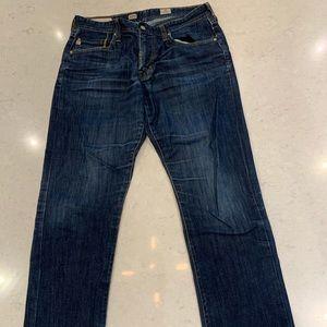 "AG Protege Straight Leg 33"" Jeans"